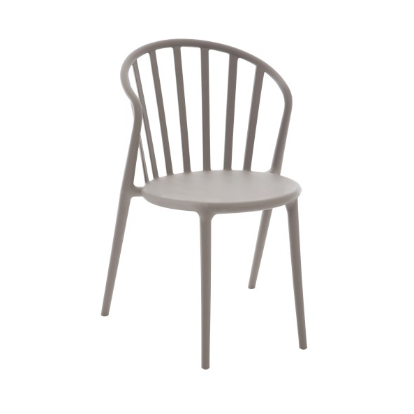 Chair Andy, Polypropylene, Greige