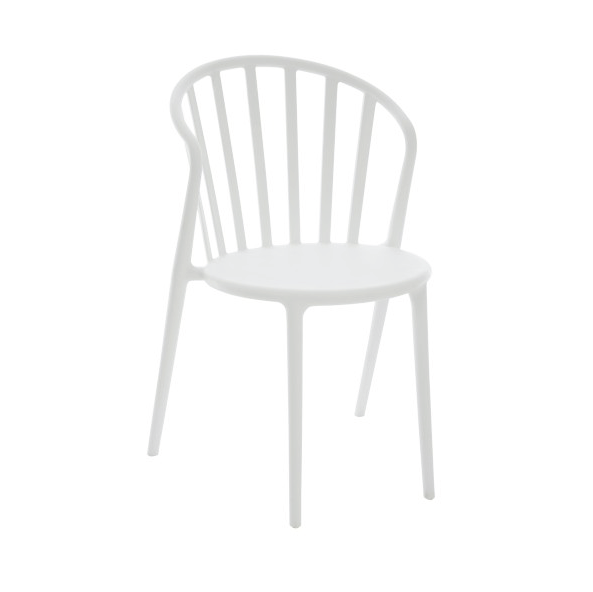 Chair Andy, Polypropylene, White