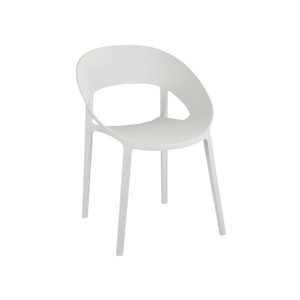 Chair Lola, Polypropylene, White