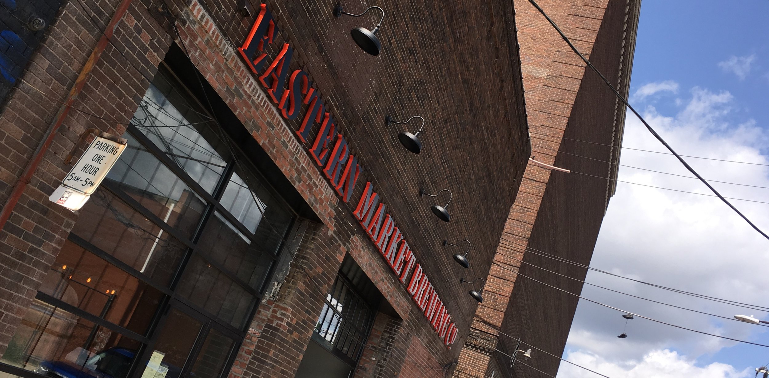 Eastern Market Brewing Co. main entrance