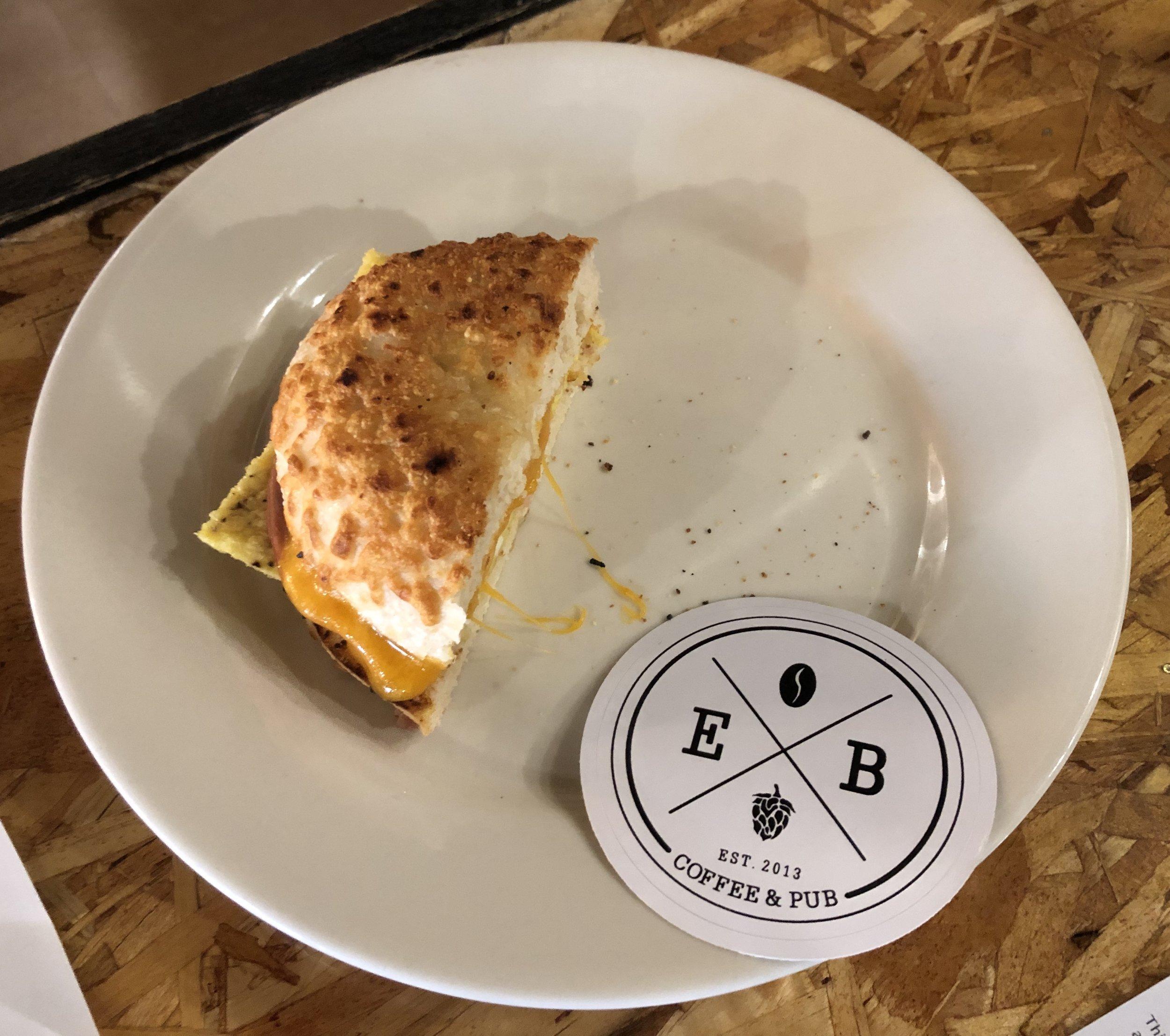 Great breakfast sandwiches