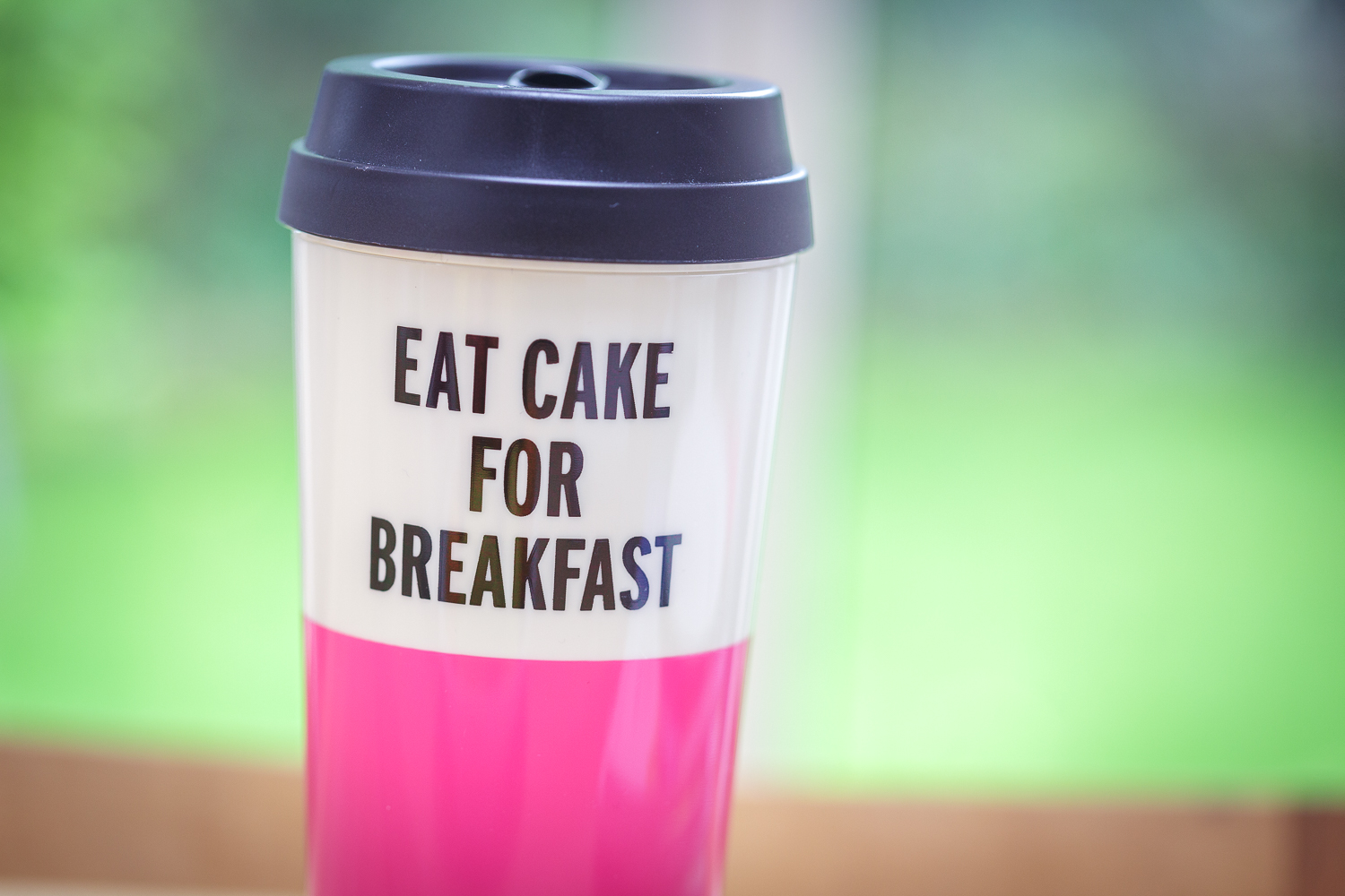 I don't do this ALL the time, but I do if that's what I want for breakfast!!