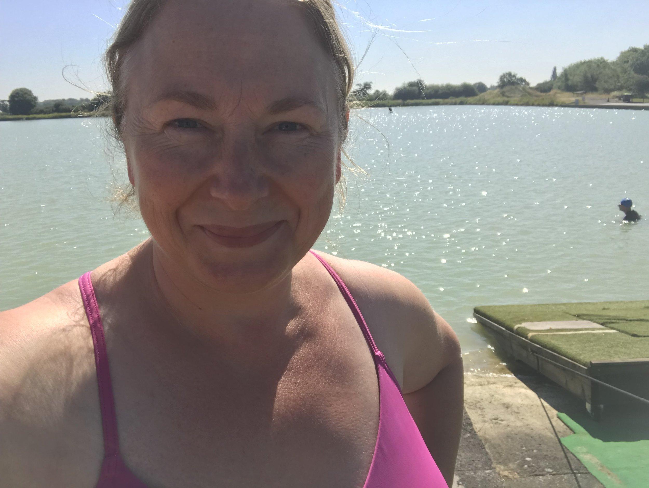 Before the swim