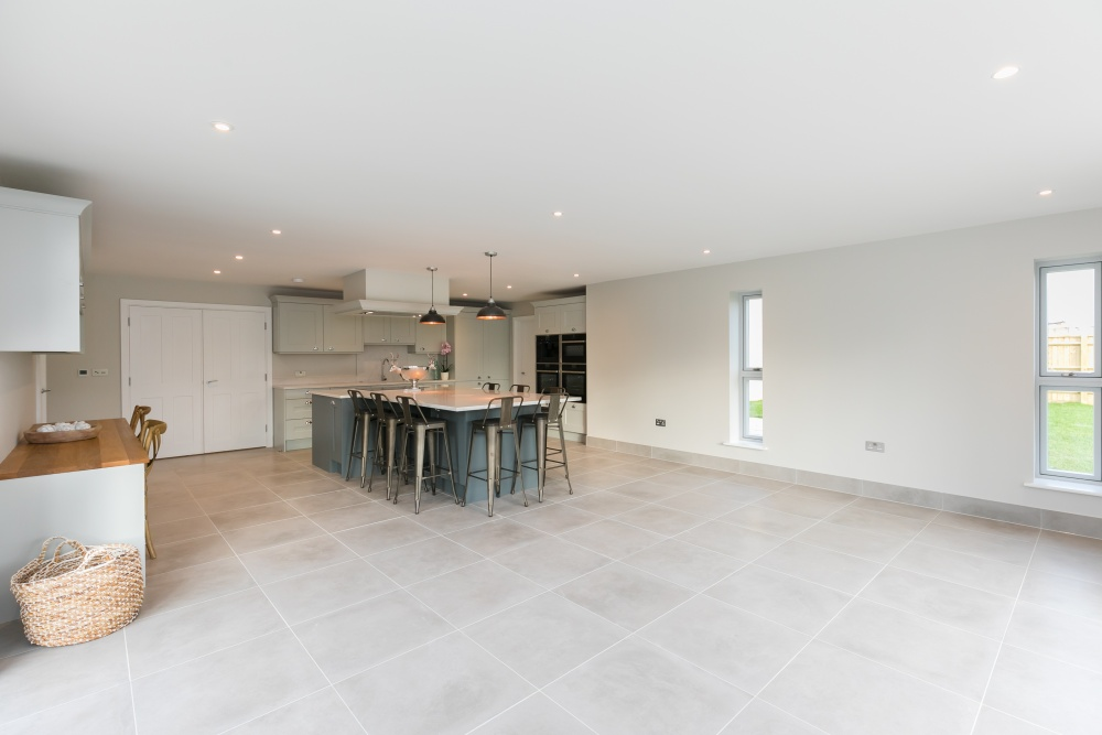 Breedon House – family room and kitchen