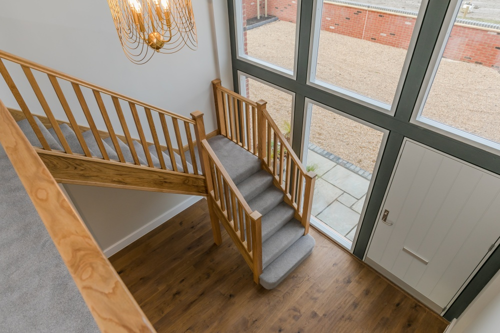 Breedon House – staircase and entrance