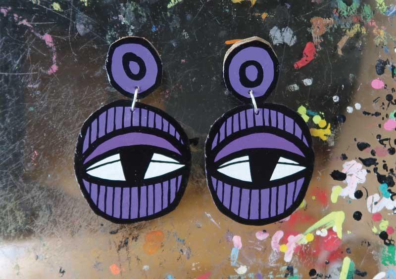 20171832 Eye - Purple
