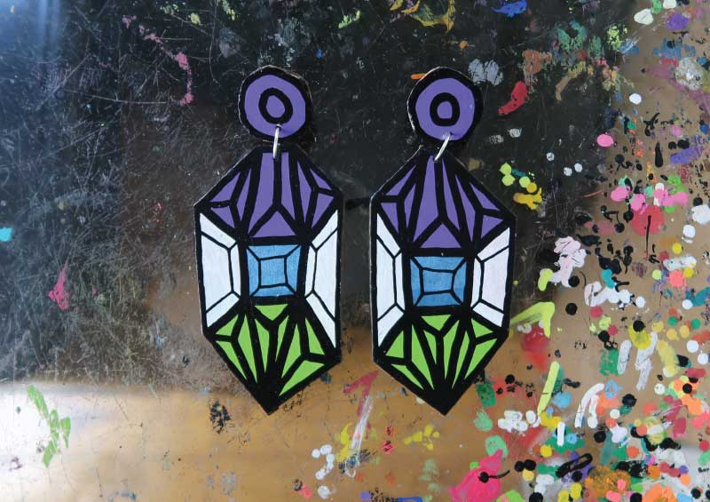 20171822 Crystal - Purple