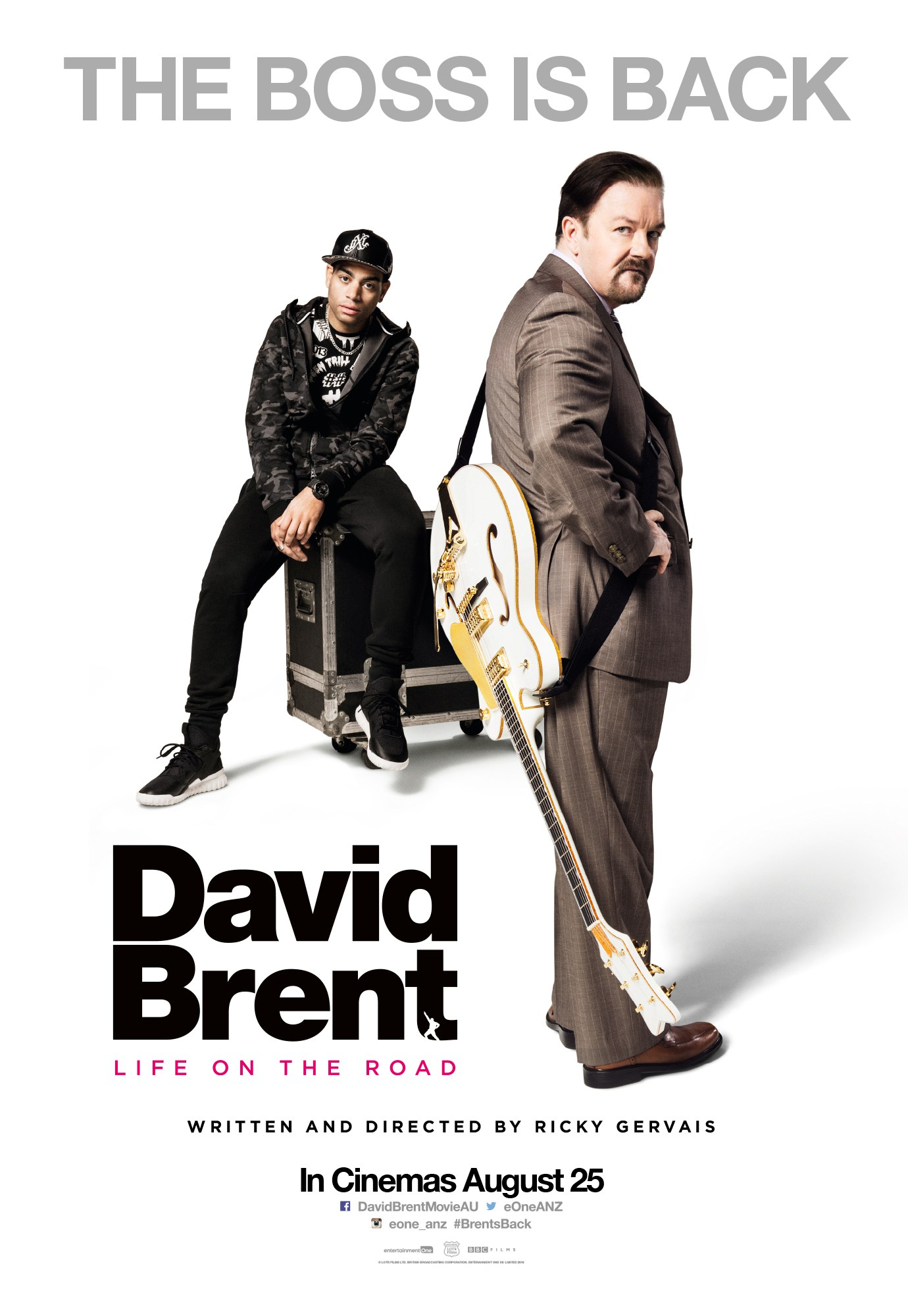 David Brent: Life on the Road. - Director: Ricky GervaisFeaturing music by artists from SixtyFour Music / Hummingbird Music.Synopsis: The film catches up with Brent 12 years after the airing of the BBC mockumentary