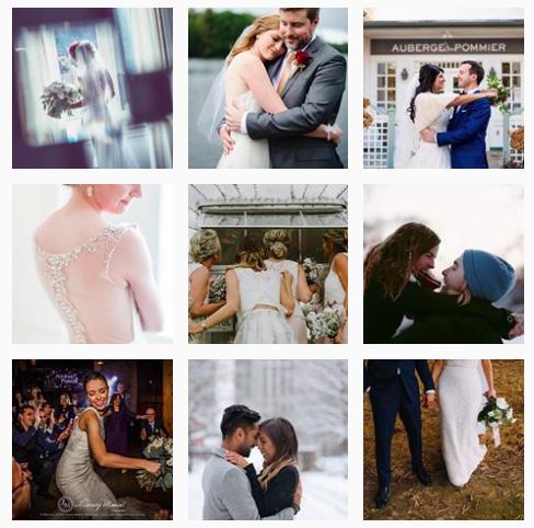 The #torontoweddingphotographer hashtag has over 131K posts.