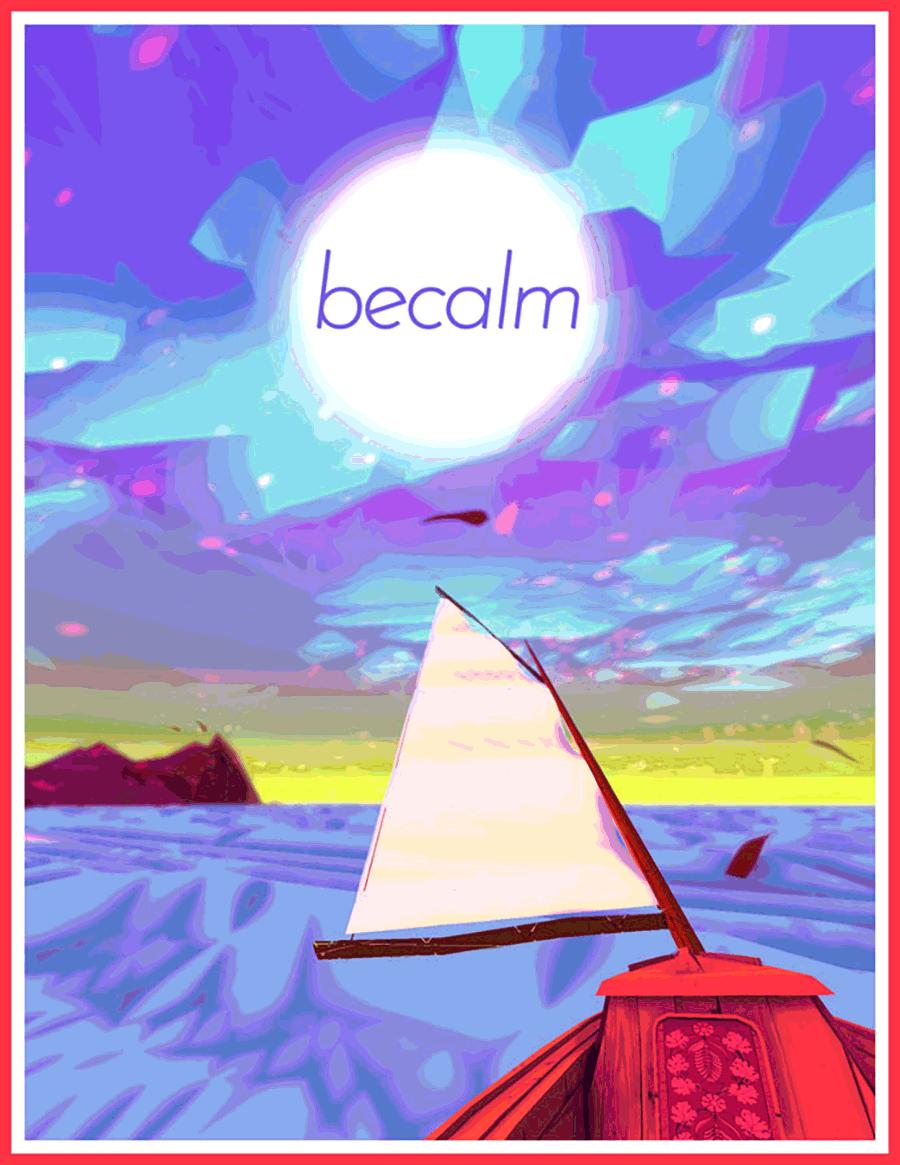 becalm -