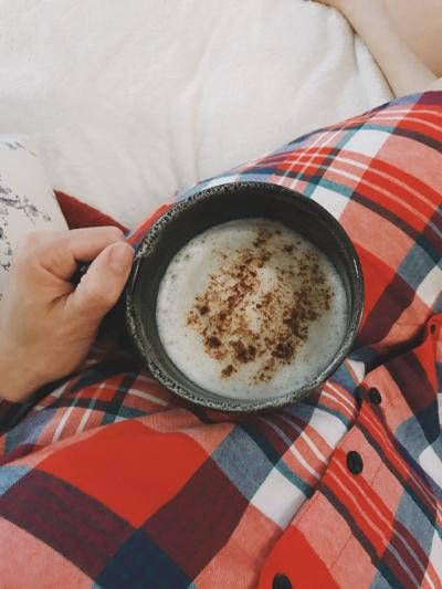 Vanilla Almond Milk Steamer