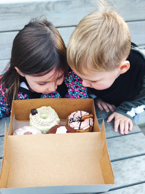 They come by their love of donuts honestly.