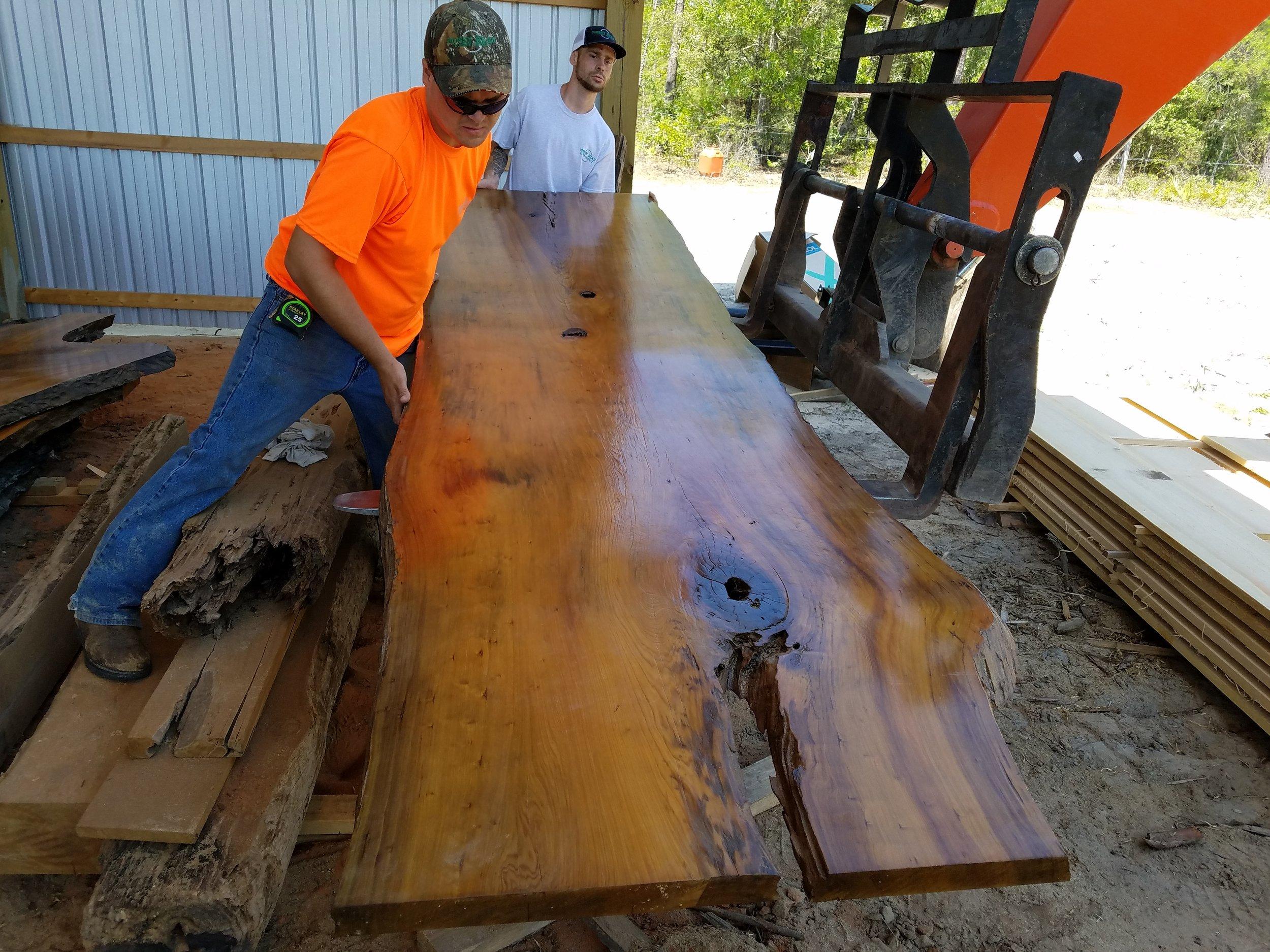 Bird's Eye Sinker Cypress Reclaimed Wood