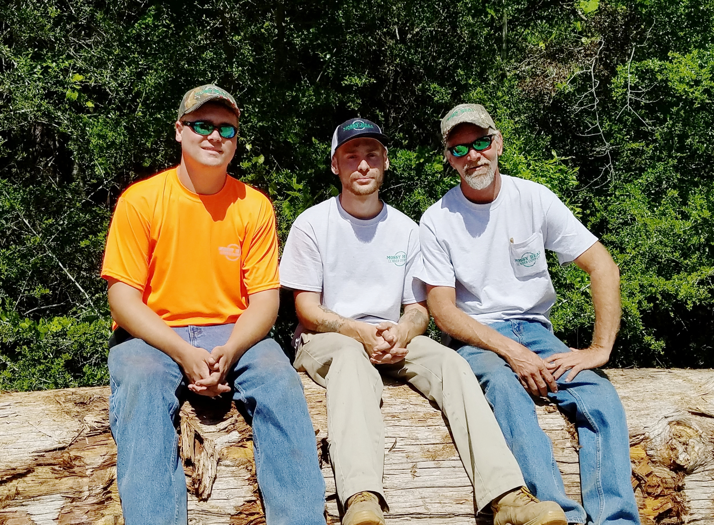 Corey, Steve and Rich Mitchell, Owners/Founders of Mossy Head Lumber Company