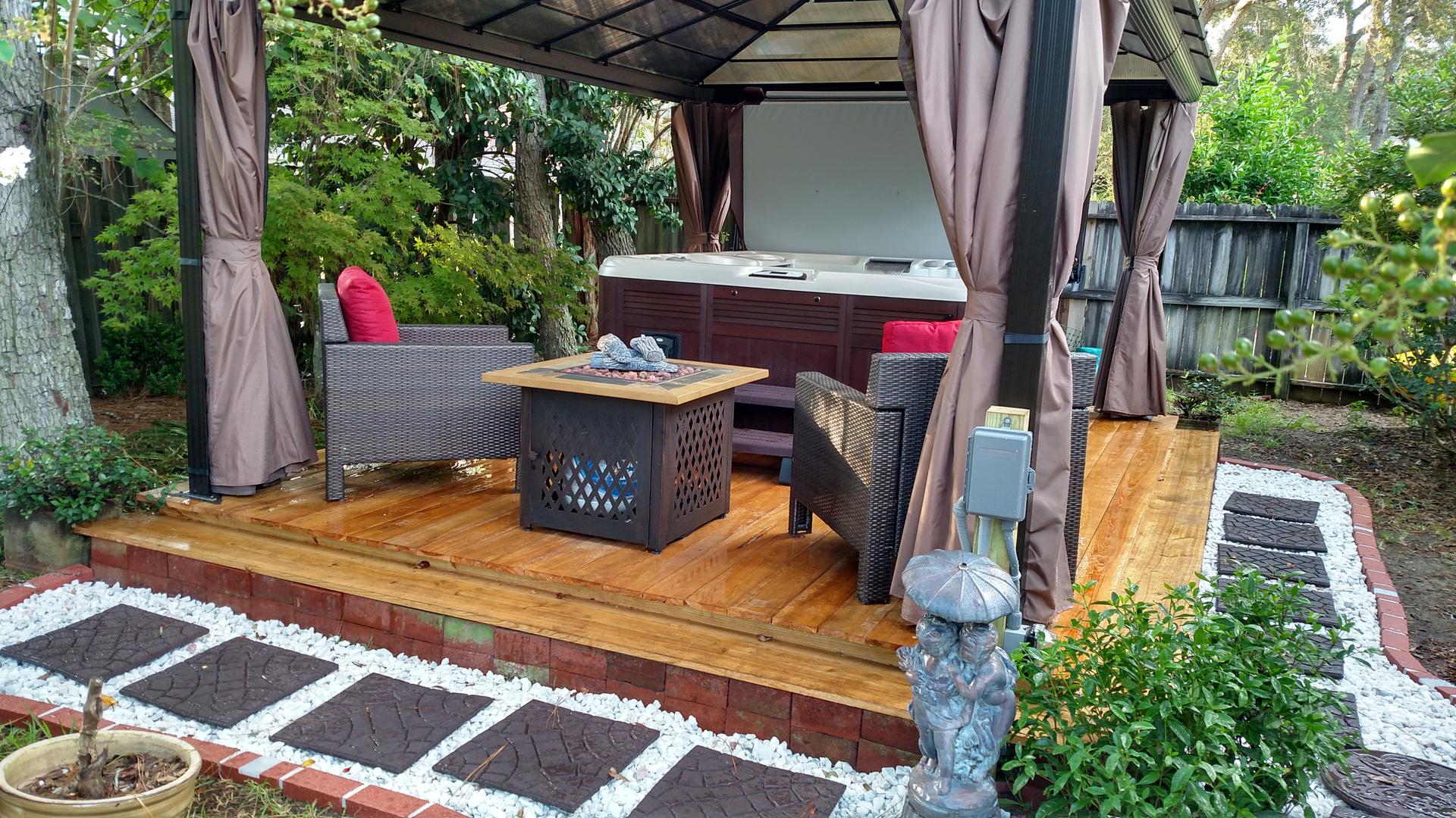 Cypress Deck