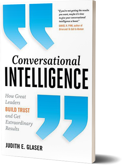 Conversational Intelligence^by Judith E. Glaser