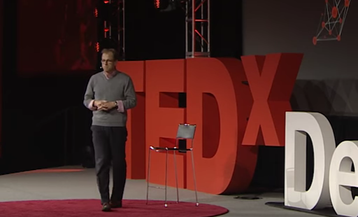 Click    here    to watch Michael's TEDx Talk about Perspective: We Go Where Our Eyes Go