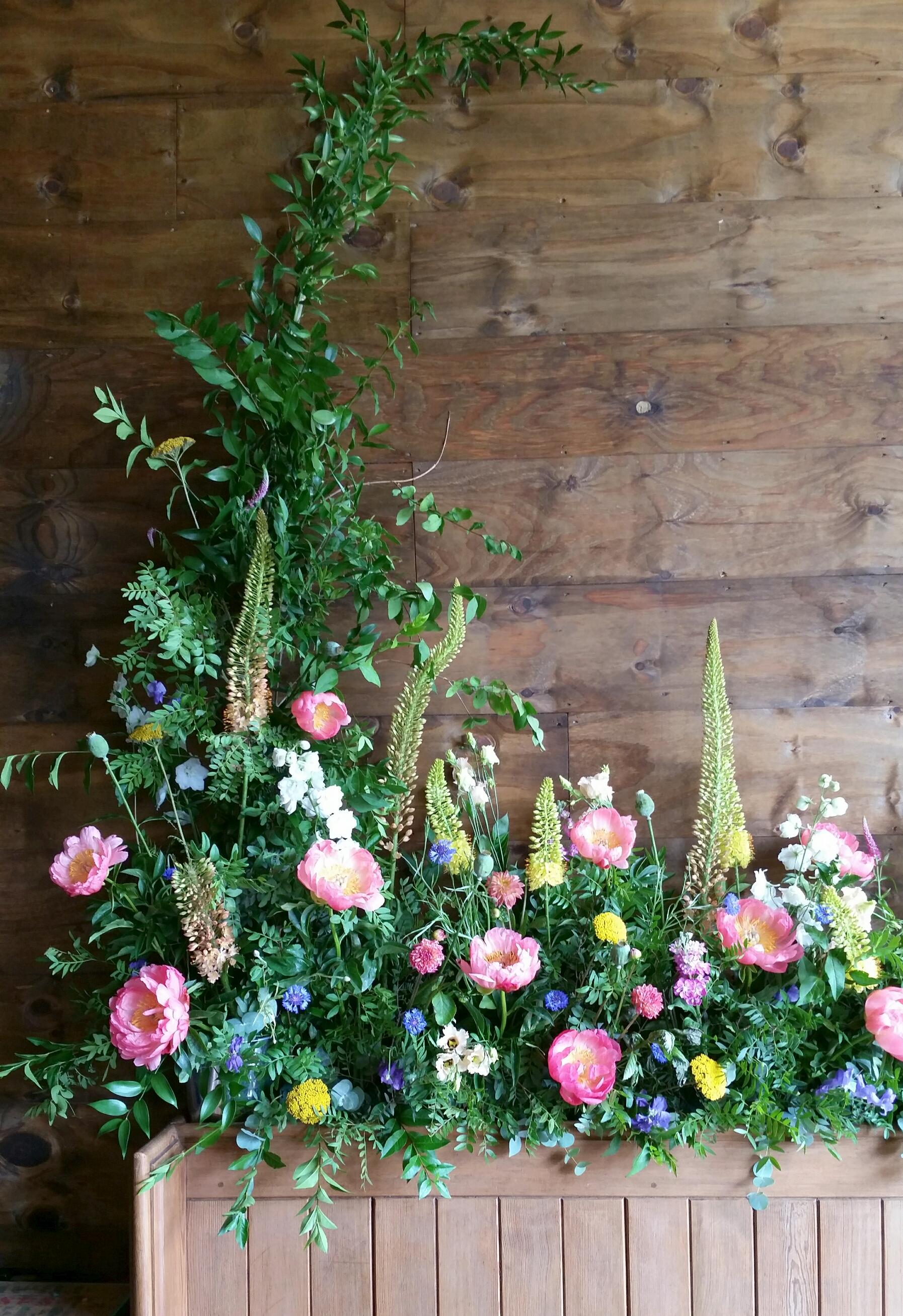 Wilderness Flower Display