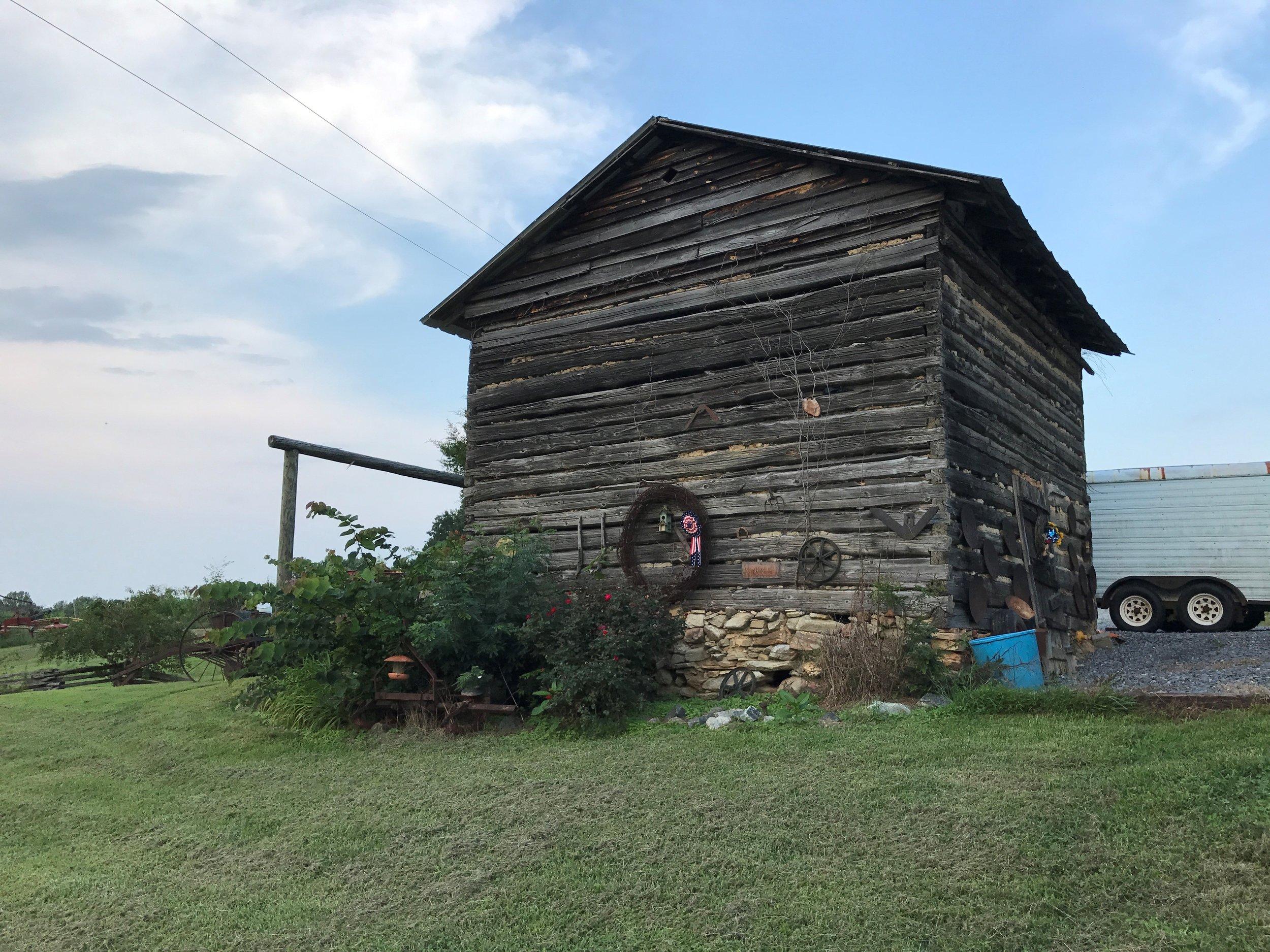 GEF Farm - The Original barn that was built by George Ervin Williamson.