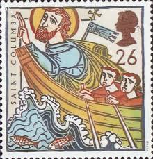 St. Columba Stamp