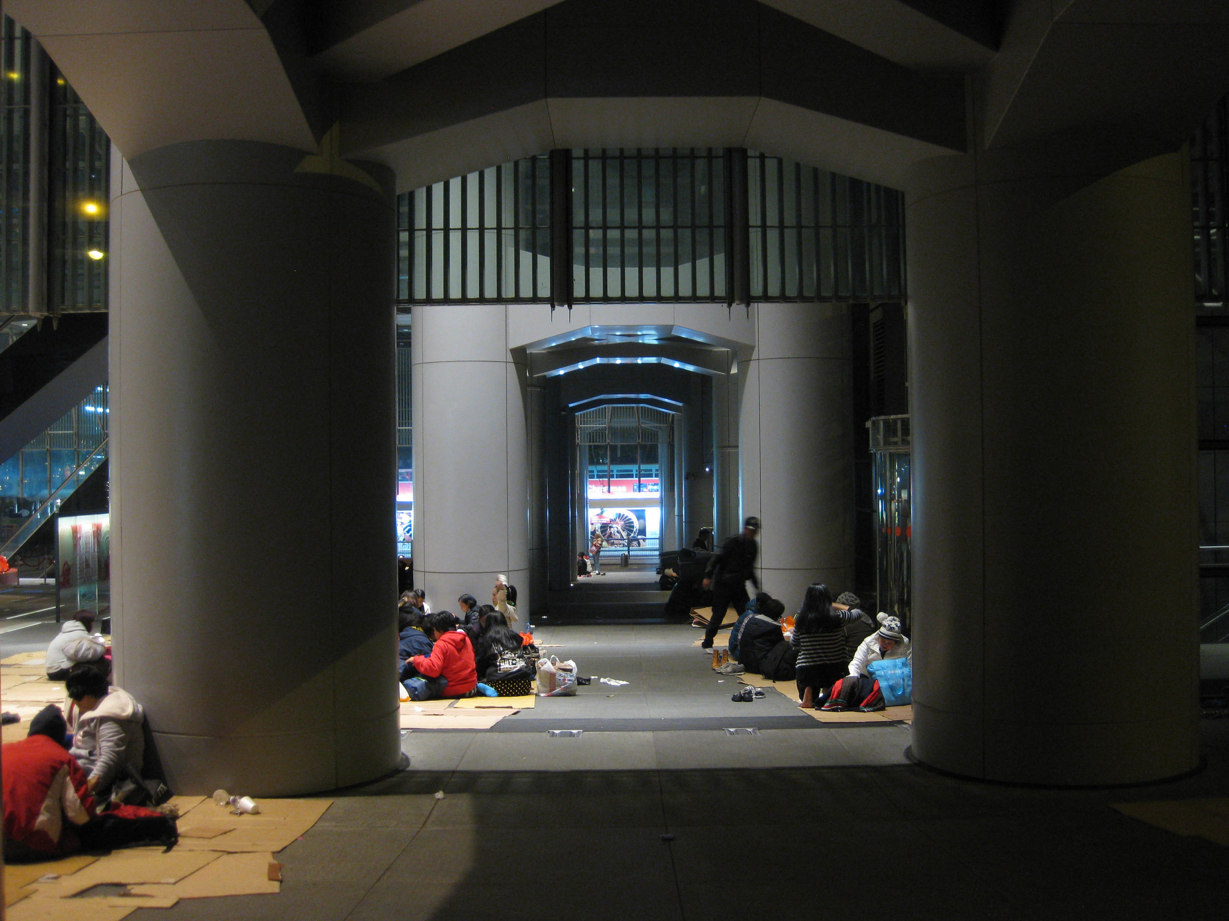 How To Make Space  (research image)   2016, Hong Kong, apexart Franchise Program