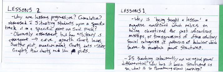 Lessons   2014