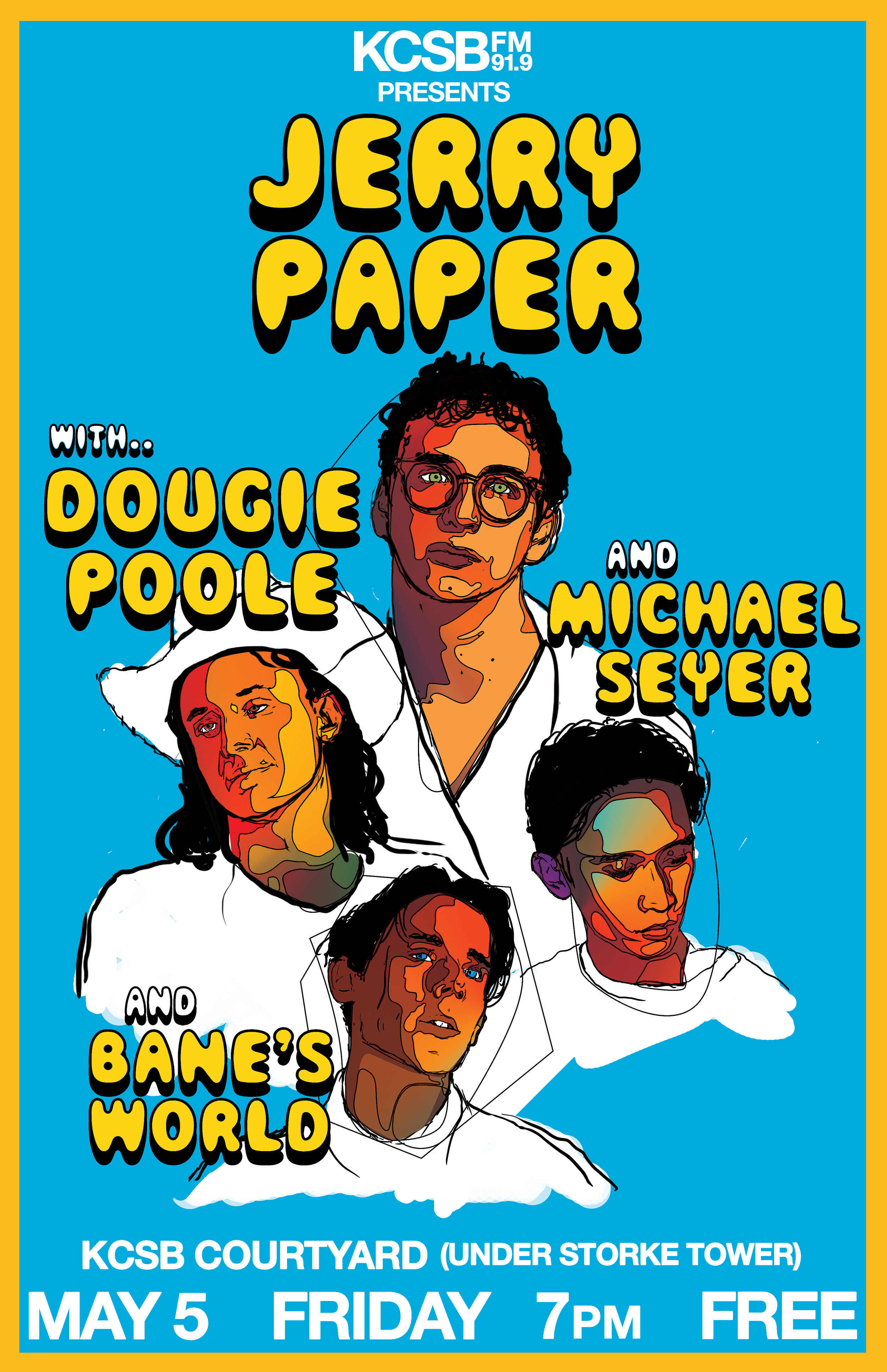 Jerry Paper, Dougie Poole, Michael Seyer, Bane's World