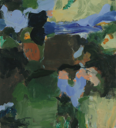 The Lost Boys, 2009 Oil on canvas 27 1/2 x 25 inches