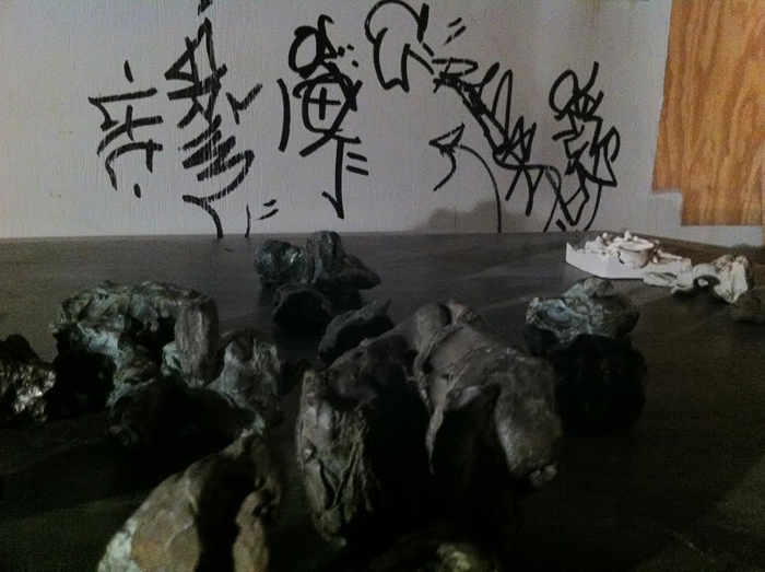 Clay Sculptures, variable size From Untitled, 2001