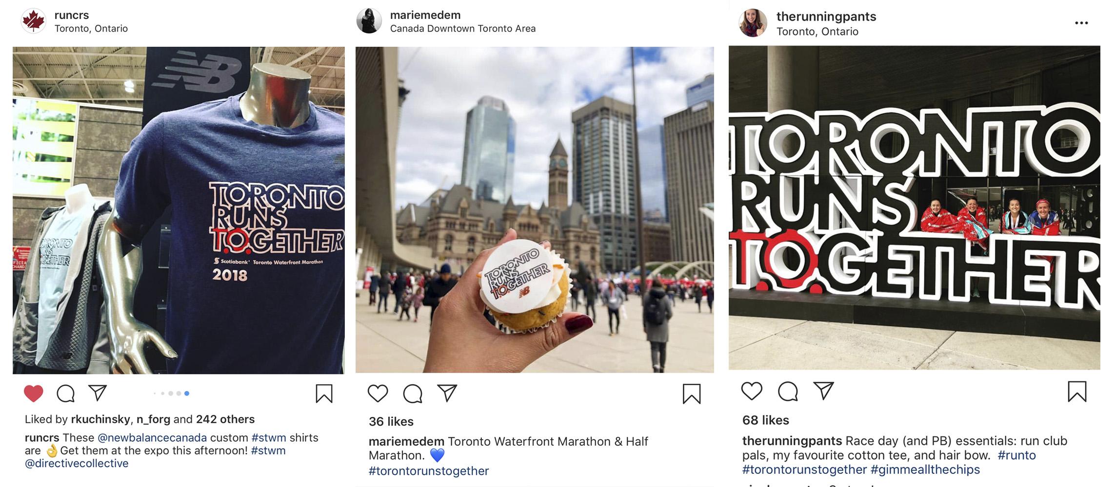 New Balance Toronto Runs Together Campaign