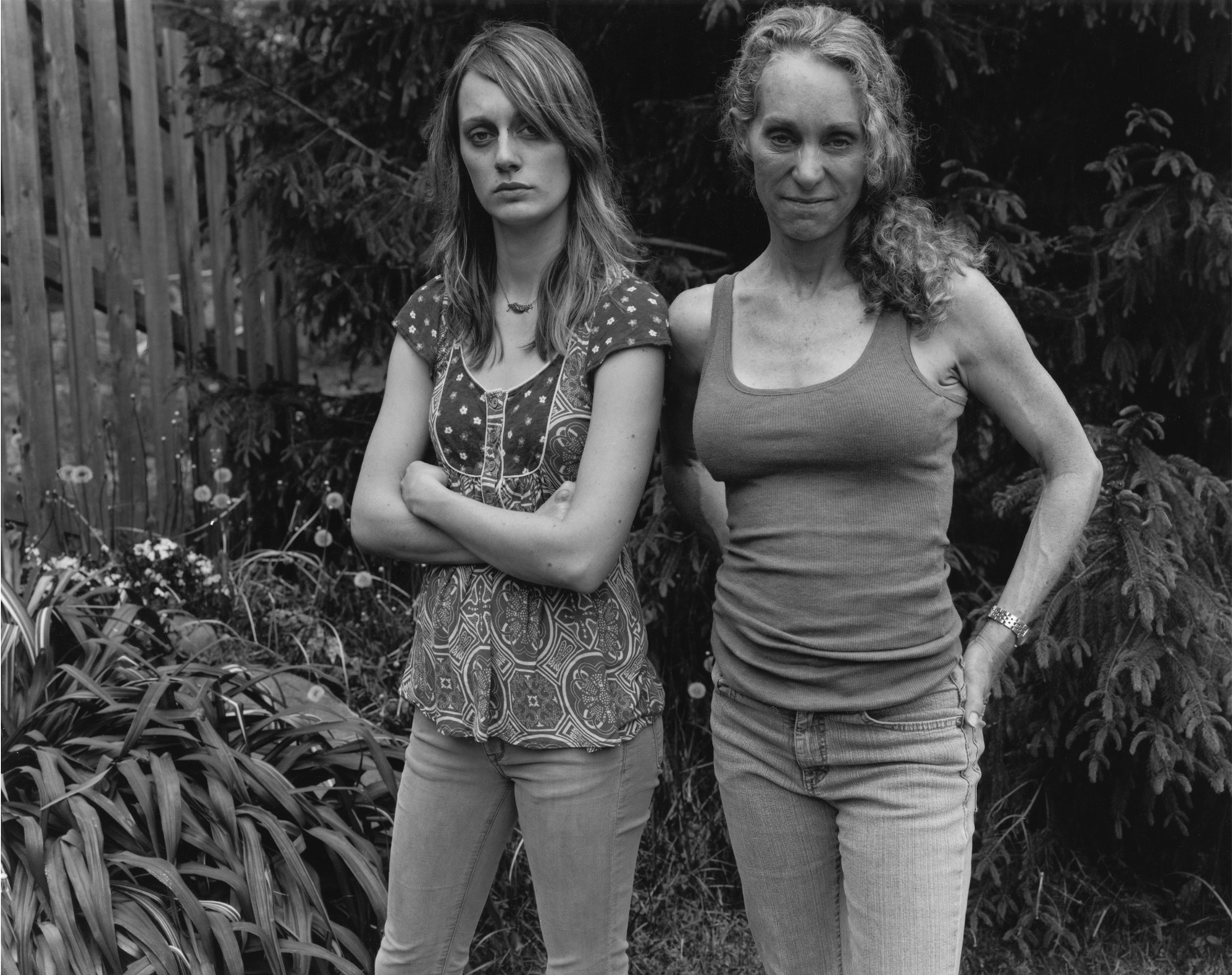 Crystal and Anne, 2017/2008