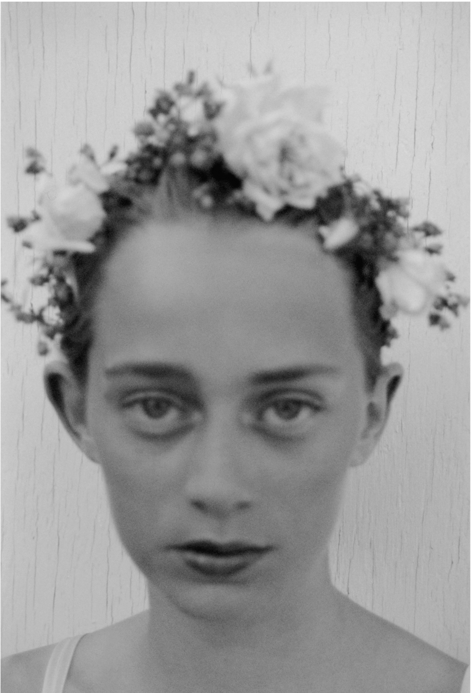 Crystal with flower crown, 1989