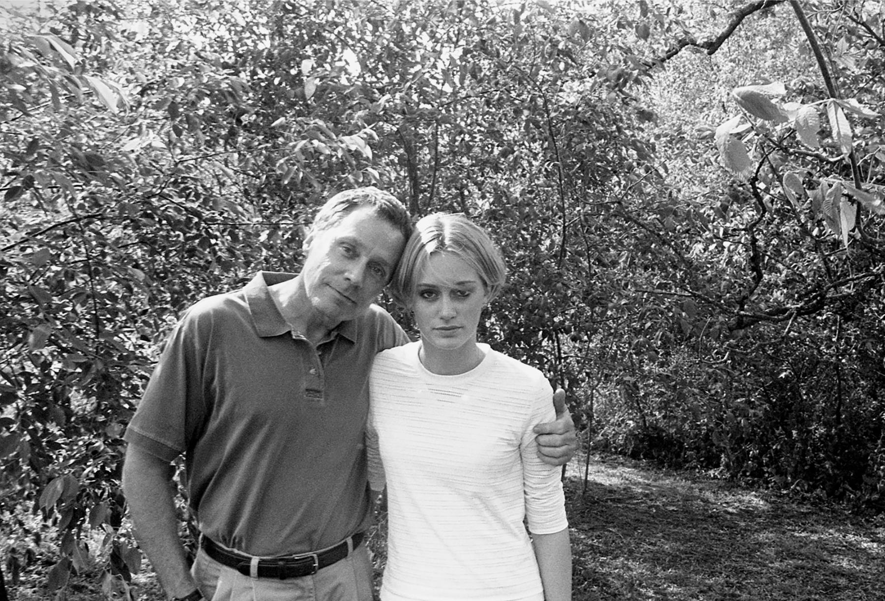 Oscar and Crystal, four years before Oscar's death, 2019/2000