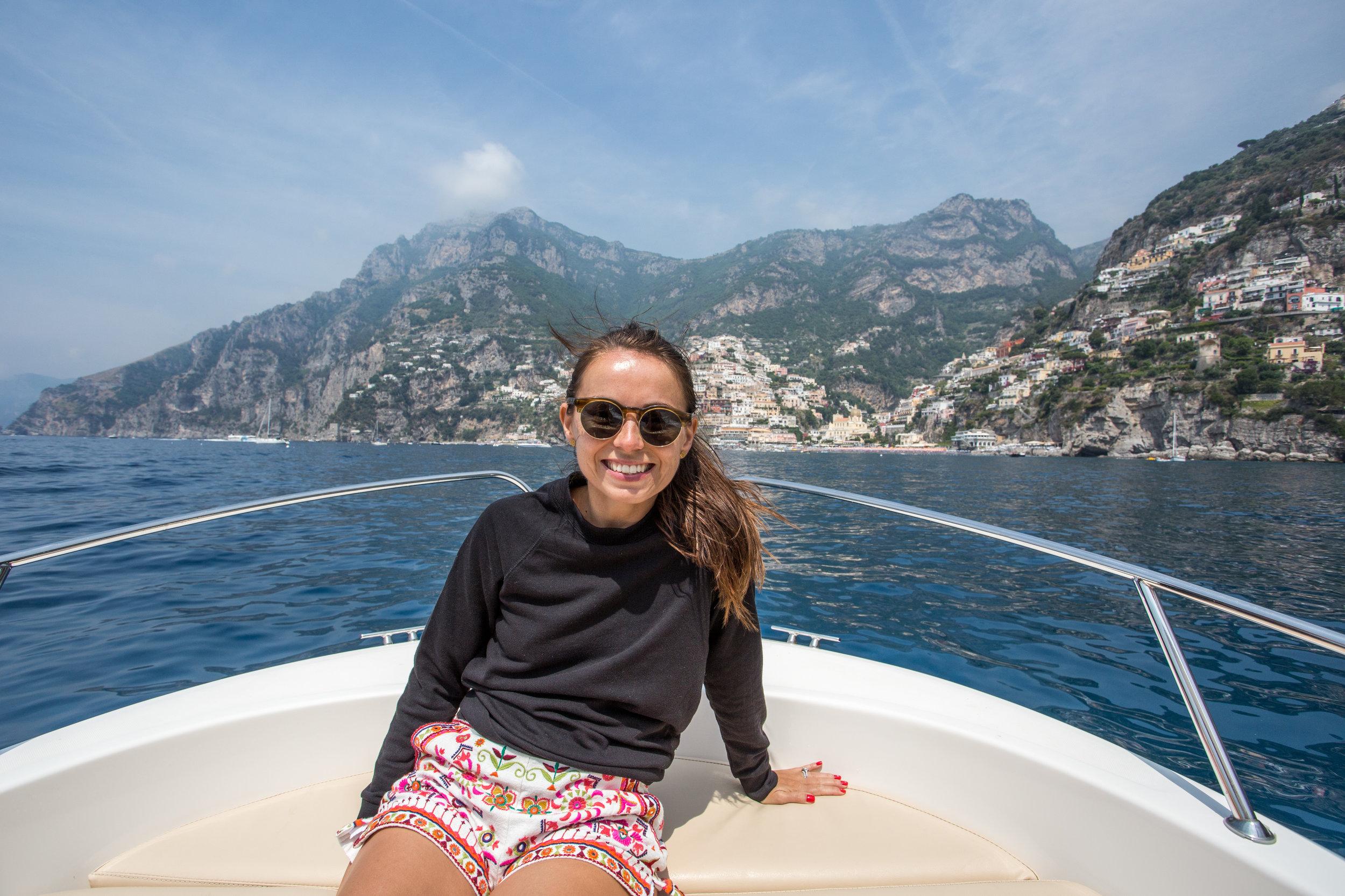 Boat Amalfi Coast