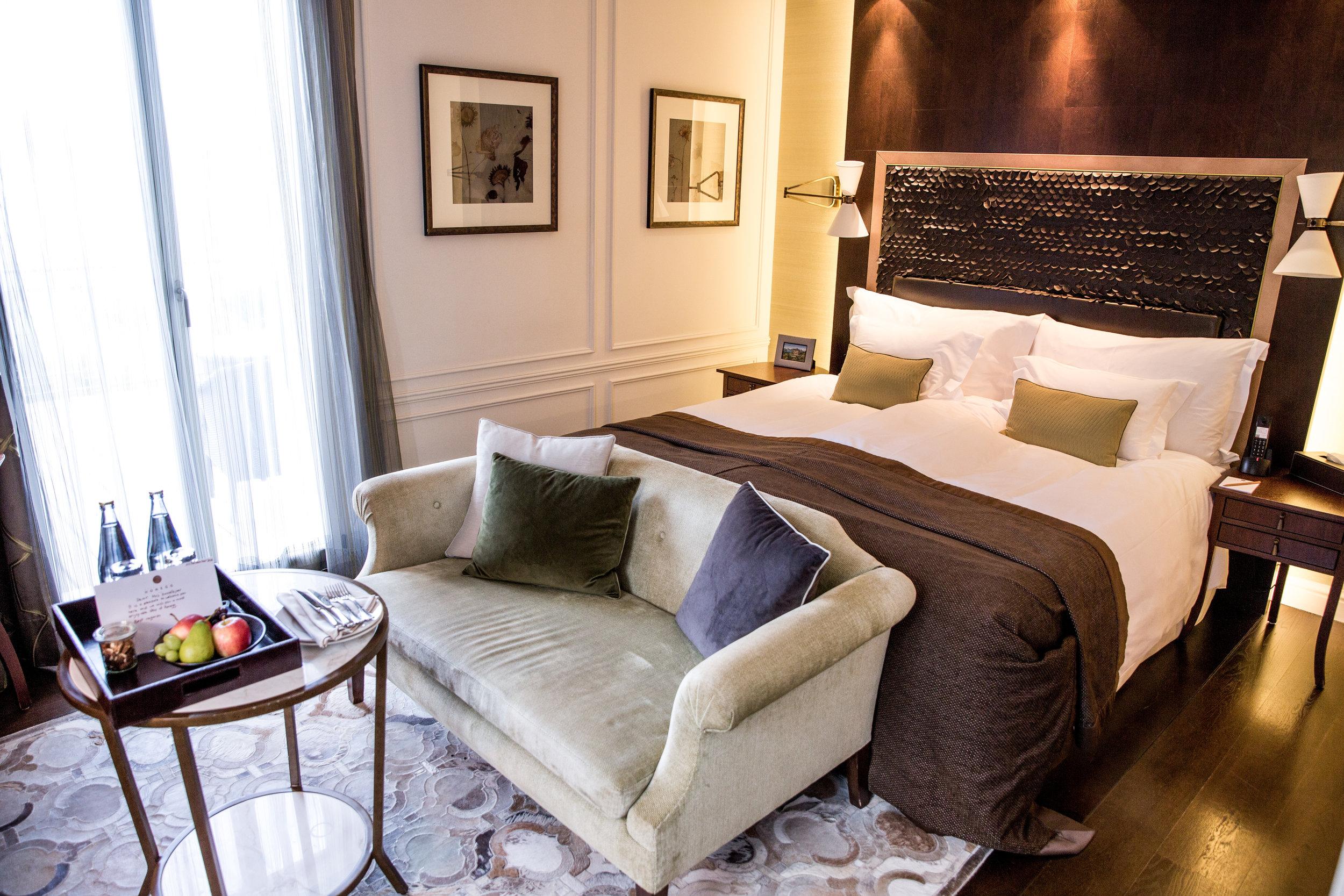 Room at Hotel Villa Honegg