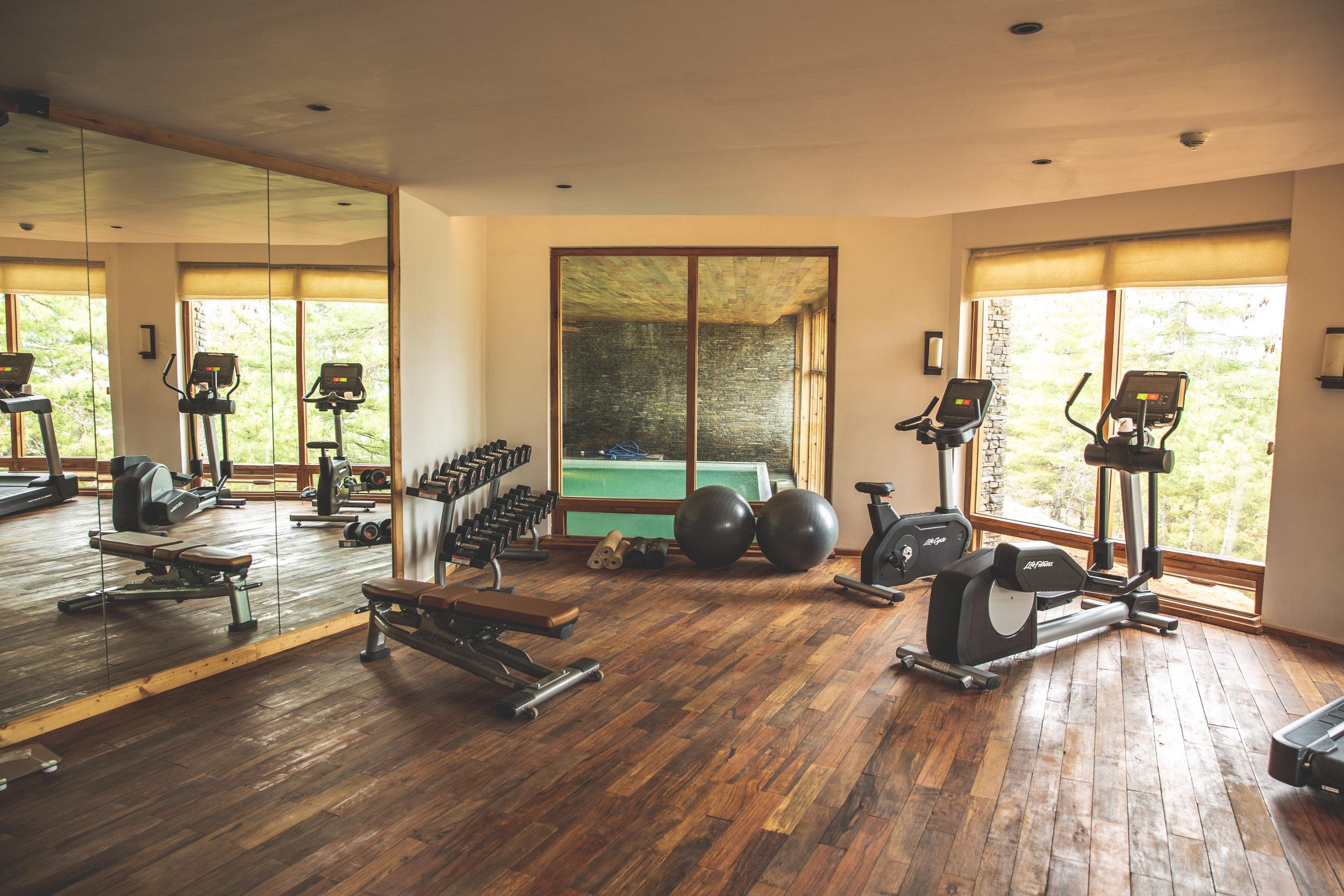 Six Senses Bhutan Paro Lodge Gym