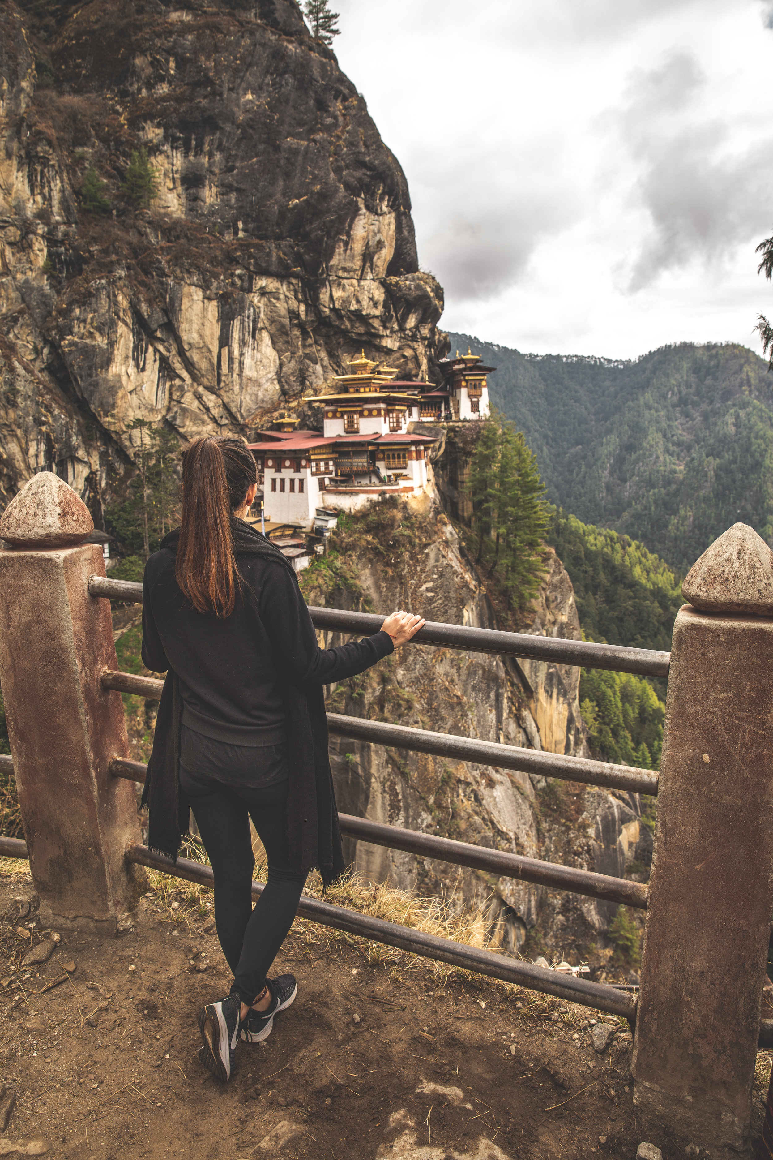 Hiking to the Tiger's Nest Monastery