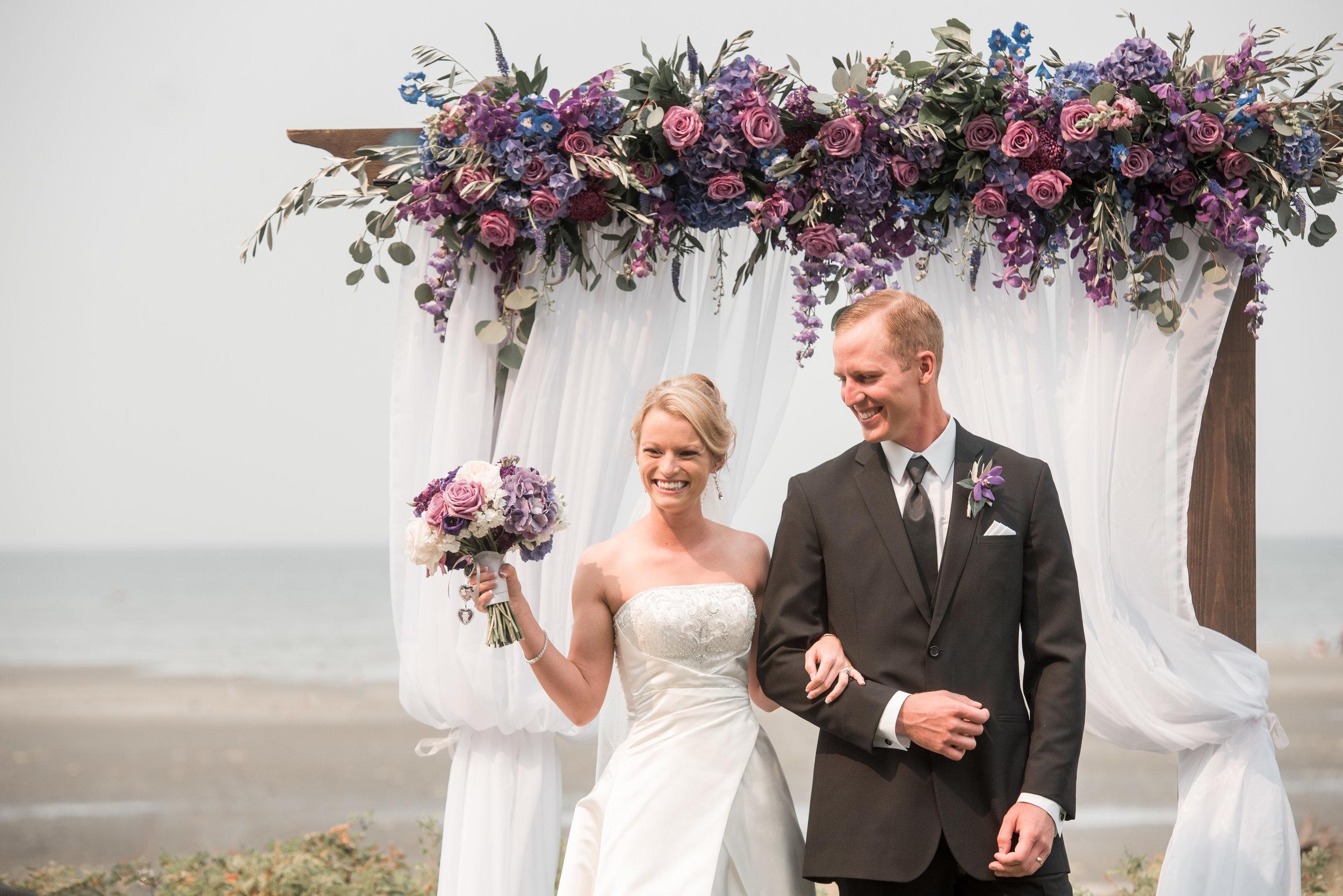 Purple Glamour Wedding