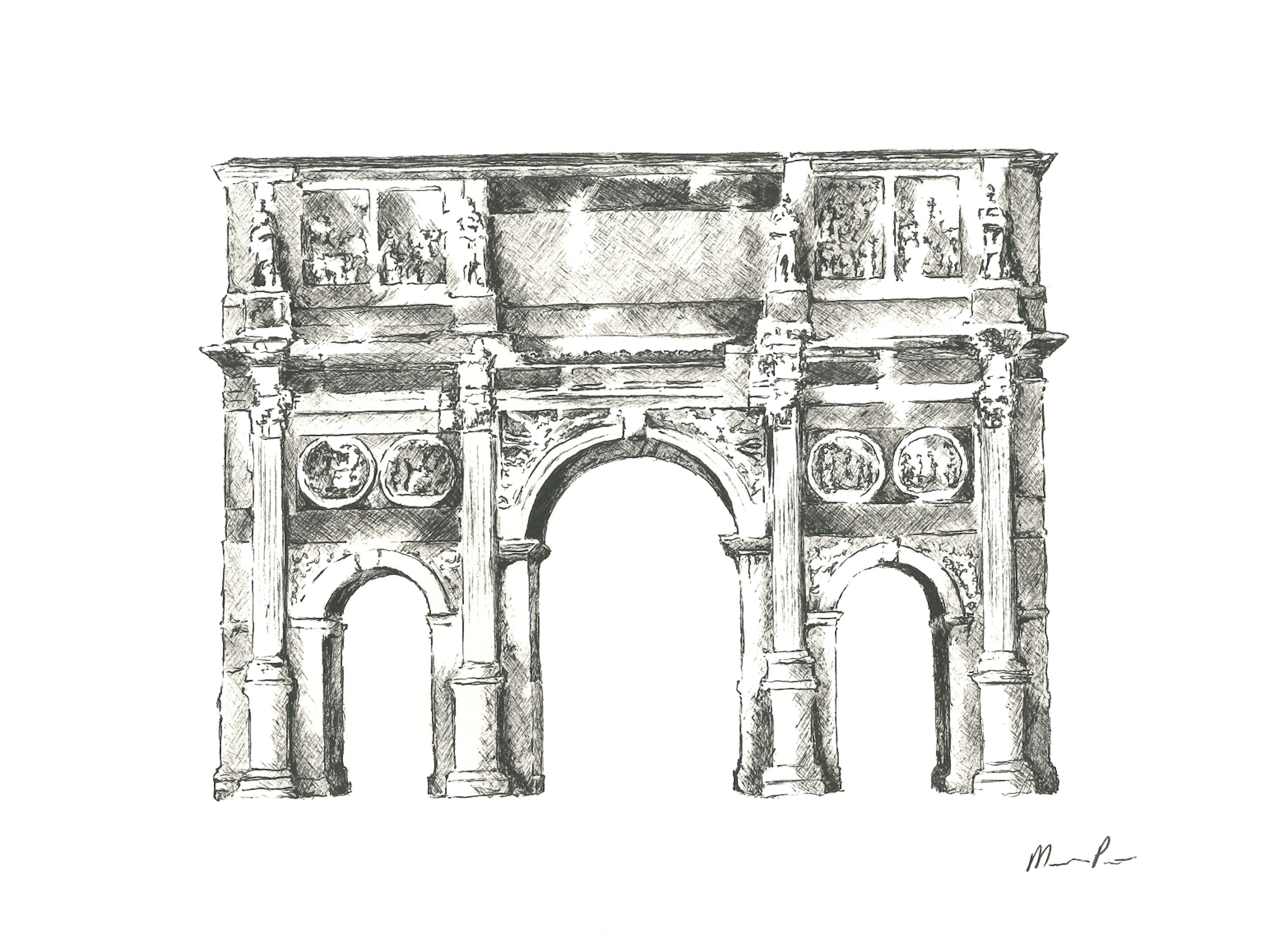 Roman Arch - 12'' x 9''SOLD