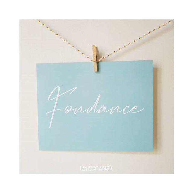 ✳️ Fondance ✳️ . Pour accompagner un joli cadeau, pour envoyer des mots doux ou tout simplement pour votre déco ! . Retrouvez nous demain à l'occasion d'une VP @franginfrangine & @les__encadres au 11 Quais Augagneur de 10h à 19h. . 💌 Les jolis mots tout doux - Tendresse : A retrouver sur notre shop (lien dans la bio) . ______ @les__encadres #les_encadres #lesencadres #fondance #craquage #joliecarte #cartepostale #cadeau #cadeauxdenaissance #lesjolismots #lesjolismoments #lesjolismotstoutdoux #carterie #paper #papeterie #illustration #motsdoux #passion #etmoncoeurfaitboum #moncoeurfaitboum #deco #cartepostale #carte #frenchillustrator #frenchillustration #graphisme
