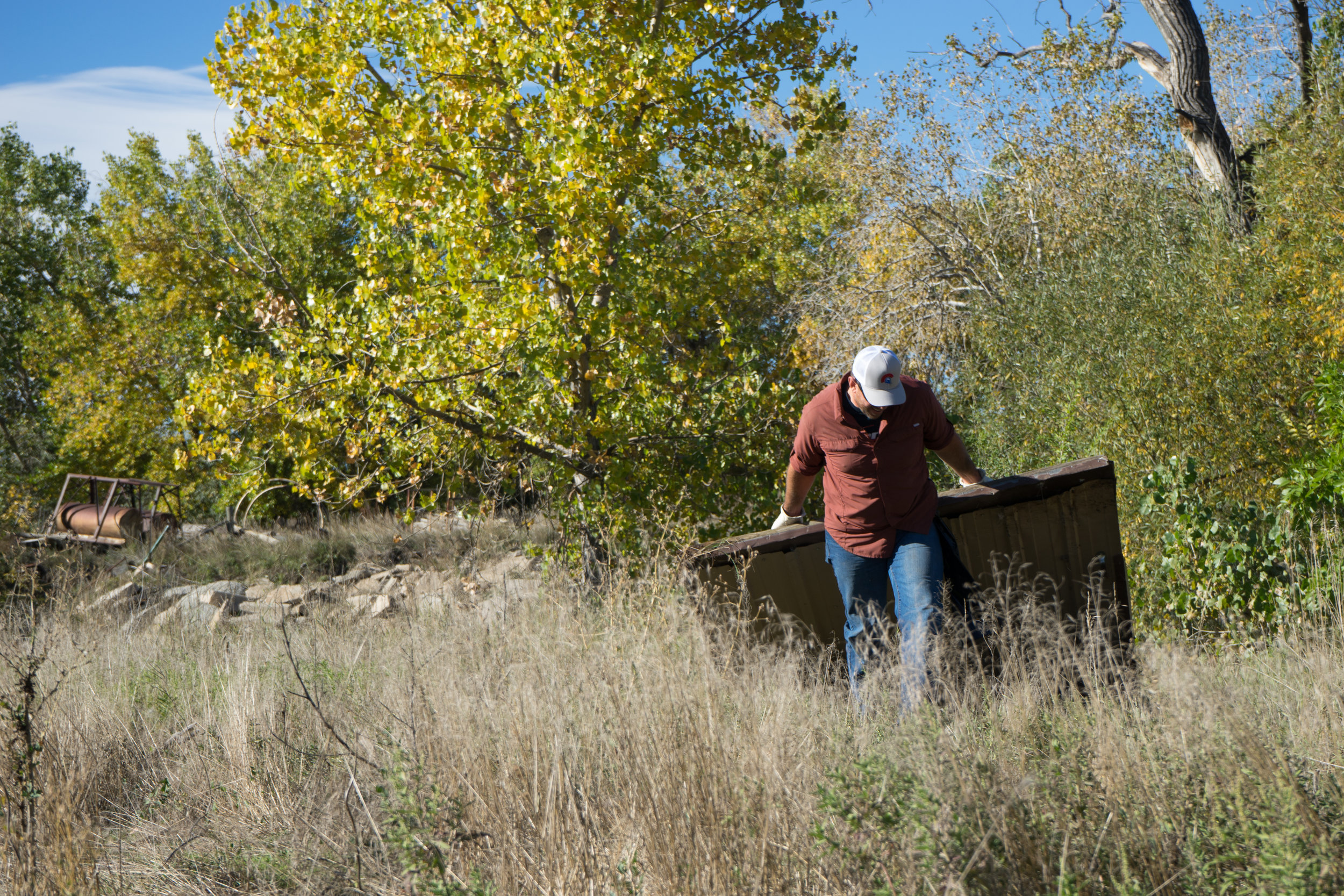 October 7th 2017 WOR partnered with local government, businesses and the community to clean about ¼ mile of the Big Thompson River in the urban corridor.