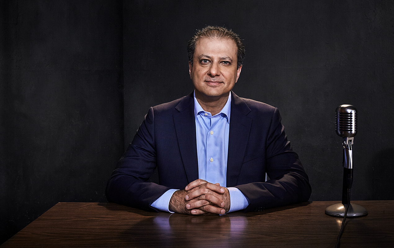 Stay Tunedwith Preet - the former U.S. Attorney who fought corruption, financial fraud and violent crime, in a series about justice and fairness. Listen