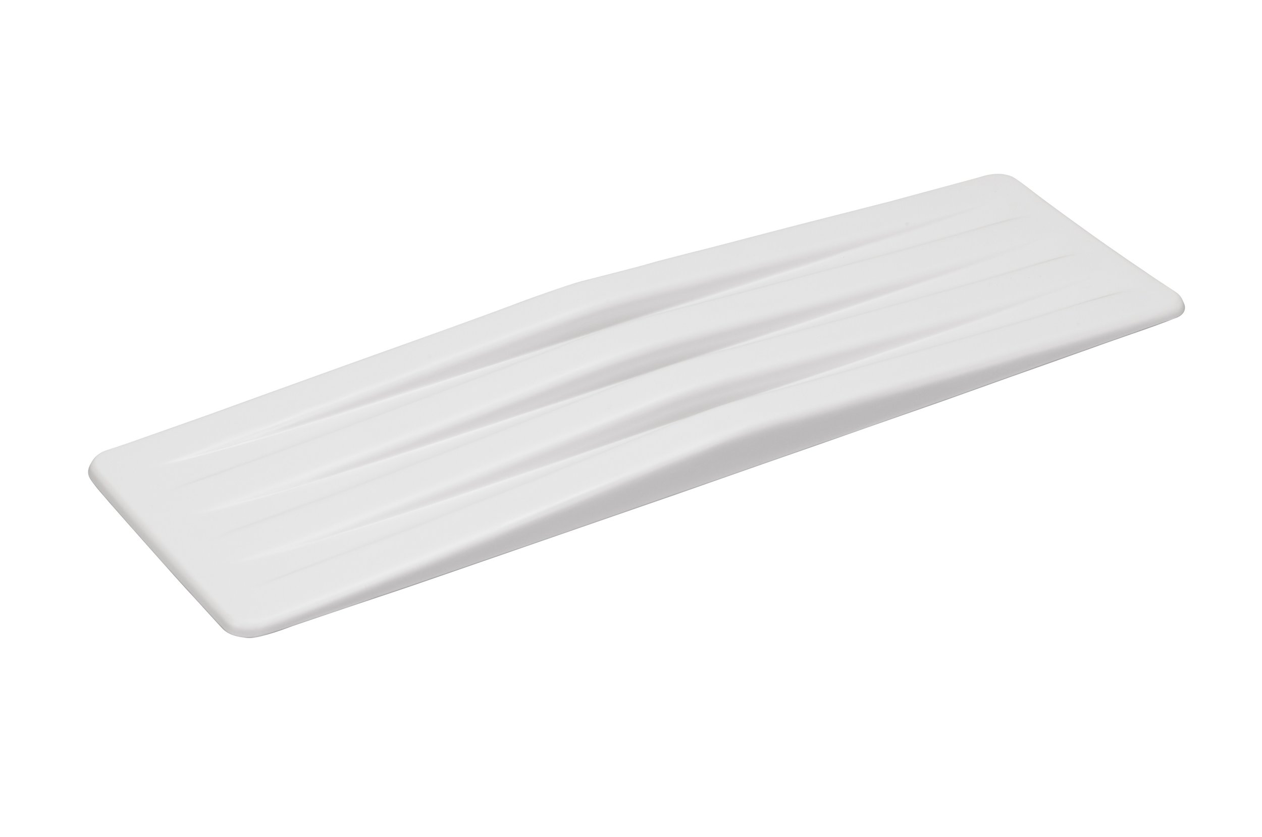 Transfer Board - Plastic Transfer Board, 8 X 27-1/2 Use to transfer from bed, wheelchair, chair or commode Constructed of heavy-duty white plastic Lightweight 8 x 27-1/2$65.00