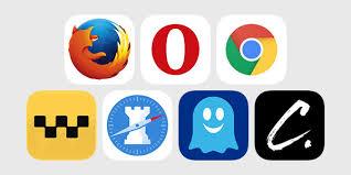 Firefox, Safari, Opera, Chrome, etc.