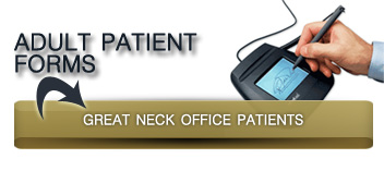 adults great neck patient forms button
