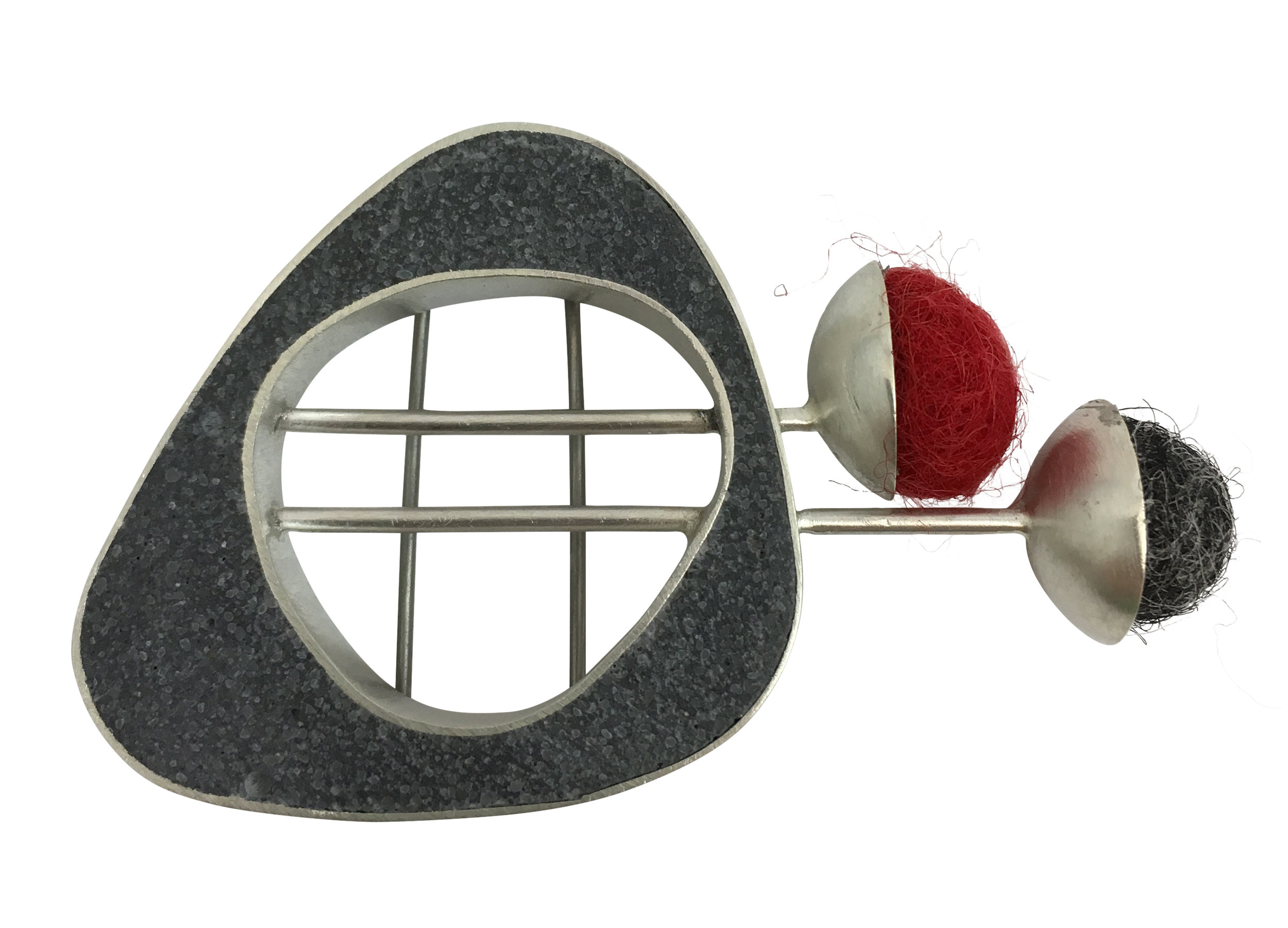 2 Lines 2 Balls Mini Pin