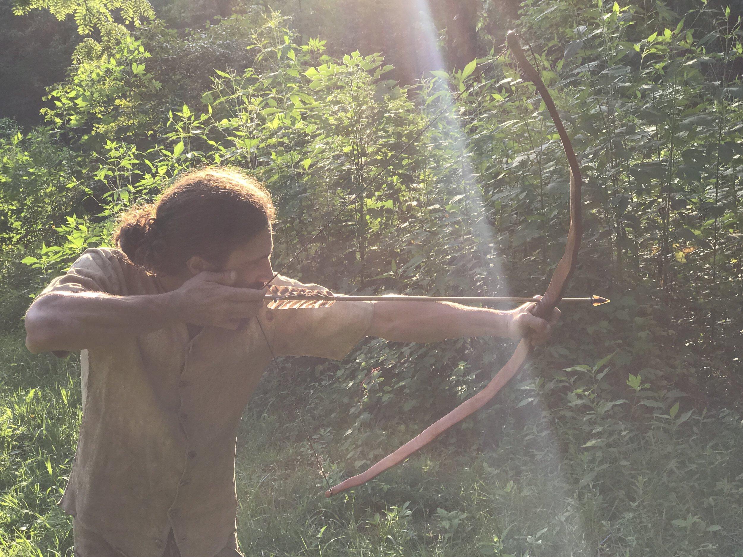 Osage bow hunting Nc