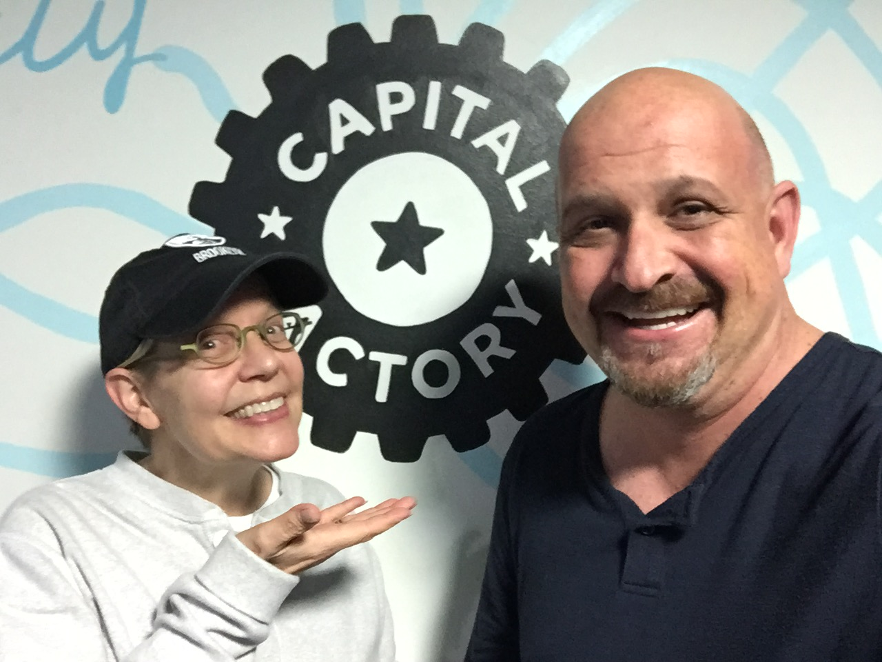 disruptED team upon arriving to Capital Factory in Austin, TX