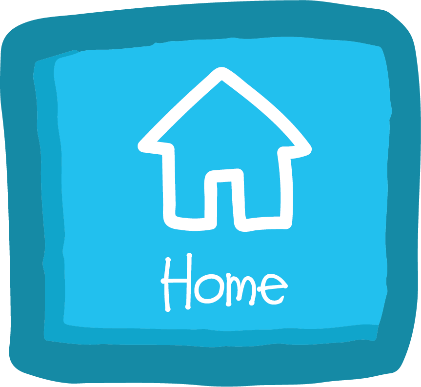 Home Button - The home button will take you back to the welcome screen with the wheel of books. When you select this button in VR, it will take you out of VR mode, so take your headset off!