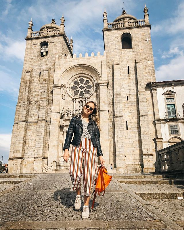 Porto! You're beautiful! ⠀ ⠀ We landed in the beautiful city and immediately went on a free walking tour that was amazing 😍 today, I took a solo wine tour trip to the Douro valley & I cannot wait to share more about my experience 🍷⠀ ⠀ This city is just how I imagined, close to the water and filled with charm. I am DYING over the yummy food and cute shops ❤️⠀ ⠀ Shop my look: #liketkit @liketoknow.it http://liketk.it/2ARq2 #girlswhotravel #discoverunder10k #portugal #porto #exploringporto #exploringportugal #tmymtravels #travelDUE #travelAE